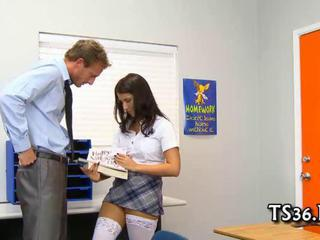 Teacher drills schoolgirl Sex Tubes