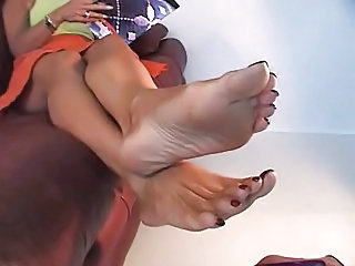 Foot Fetish lovely arms