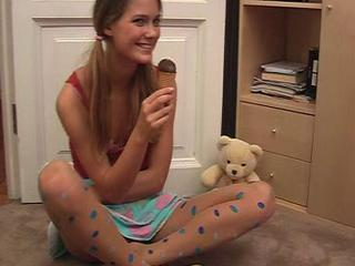 Polka Dot Pantyhose Sex Tubes