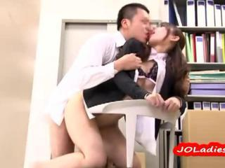 Asian Clothed Doggystyle Japanese  Office Secretary
