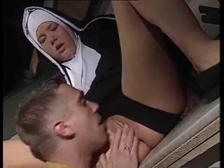 Clothed Kitchen Nun Pussy Teen Uniform