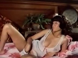 Asian Chinese Masturbating  Natural Panty Vintage
