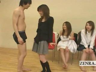 """Subtitled Japanese amateur quiz game friends watch sex"""" class=""""th-mov"""