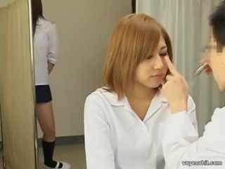 Asian Doctor Japanese Teen Voyeur