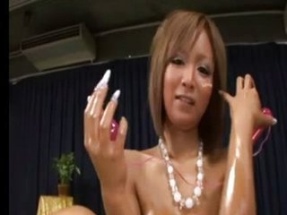Asian Babe Japanese Oiled