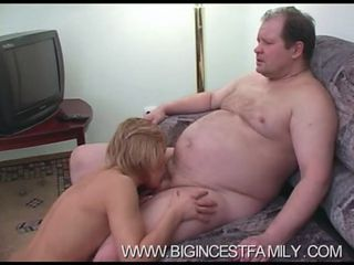 Amateur Blowjob Daddy  Older Russian Wife