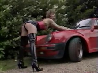 Car Latex Legs  Outdoor Vintage