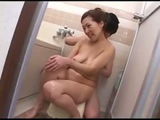 Asian Bathroom Japanese  Mom Old and Young