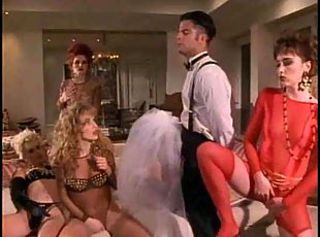 a pantyhose and stockings scene from the movie Virtual sex