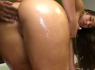 Hot Latin Chick BBC Anal