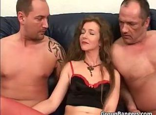 Downcast cute face milf surrounding small tits