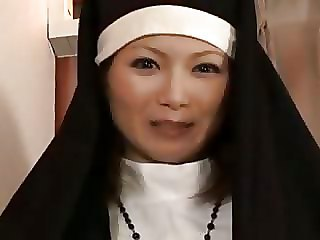 Asian Japanese  Nun Uniform