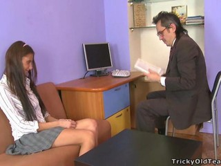 Daddy  Old and Young Skinny Student Teacher Teen