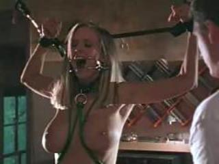 Girl in pain - hard bondage