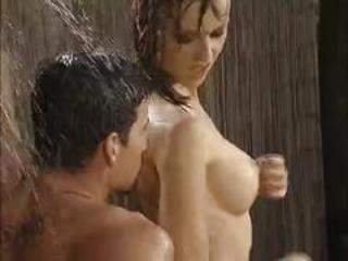 Julian & vicca outdoor shower sex ((cochinadas))
