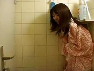 Japanese teen fucked by dilute