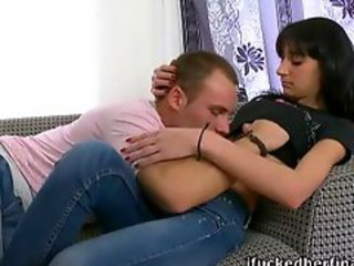 Brunette European Teen Wife