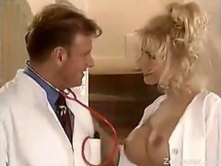 Amazing Big Tits Doctor  Pornstar Uniform