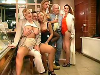 Big Tits Daddy Groupsex  Old and Young