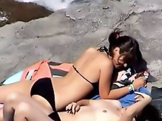 Beach Bikini Girlfriend Outdoor Voyeur