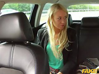 Amateur Blonde Car European Teen