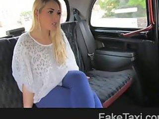 Amateur Blonde Car Cute