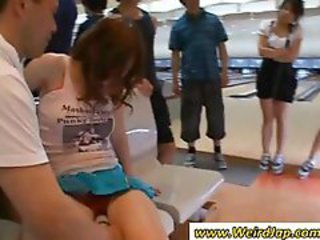 Asian Japanese Party Public Teen