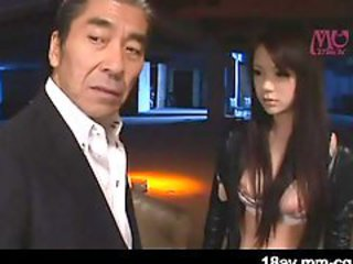 Asian Cute Daddy  Old and Young Teen