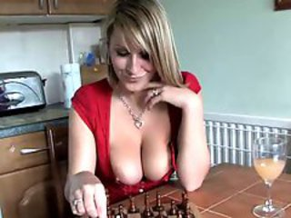 Big Tits Game Kitchen  Natural Nipples Voyeur