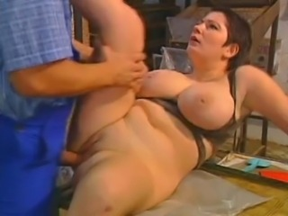 Big Tits Chubby European German Mature Vintage