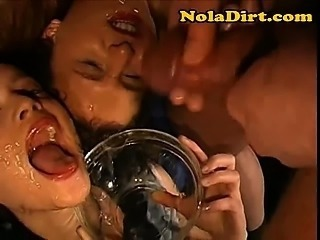 German Whores Drink Cum Loads