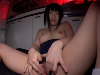 Asian Cute Japanese Masturbating