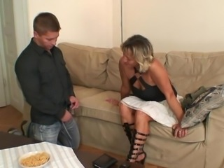 Housewife finds him making love mother-in-law