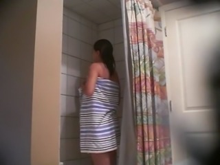 Bathroom Sister Teen Voyeur