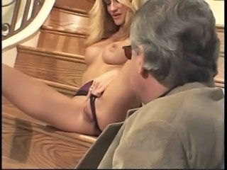 Big Tits Blonde European Old and Young