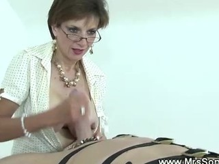 Dominatrix Loves To Tease Servant