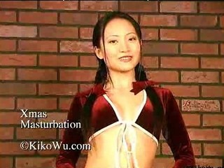 Asian With Christmas Candy In Both Holes Asian Cumshots Asian Swallow Japanese Chinese