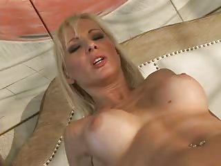 Hot Euro Blondie Gets A Big Black Dick In Her Ass
