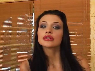 Aletta Ocean DPed - Anal sex video -