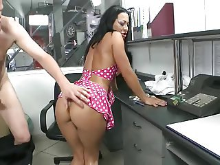 Amazing Ass  Office Pornstar