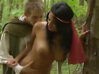 Babe Big Tits Fantasy Natural Outdoor