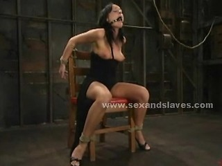 Brunette Sex Slave Is Spanked And Whipped Then Fucked In Extreme