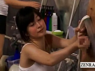 Asian Babe Handjob Japanese Showers