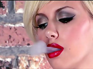 Smoking Teen