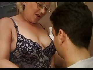 European Glasses Italian Mature Mom Old and Young