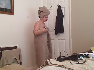 Sister in Law after shower