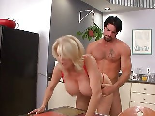 Big Tits Doggystyle Kitchen  Mom Old and Young