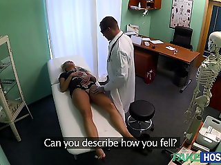 Cute patient Barra needs sex as a cure