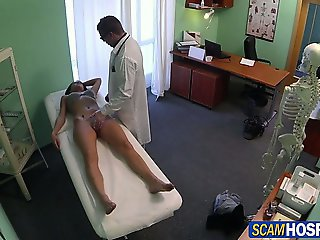 Hot pole dancer gets fucked as treatment