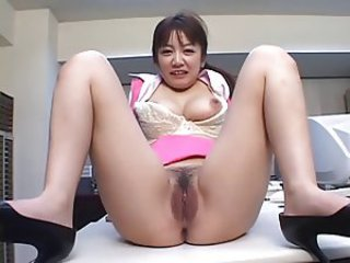 Asian Japanese  Office Pussy
